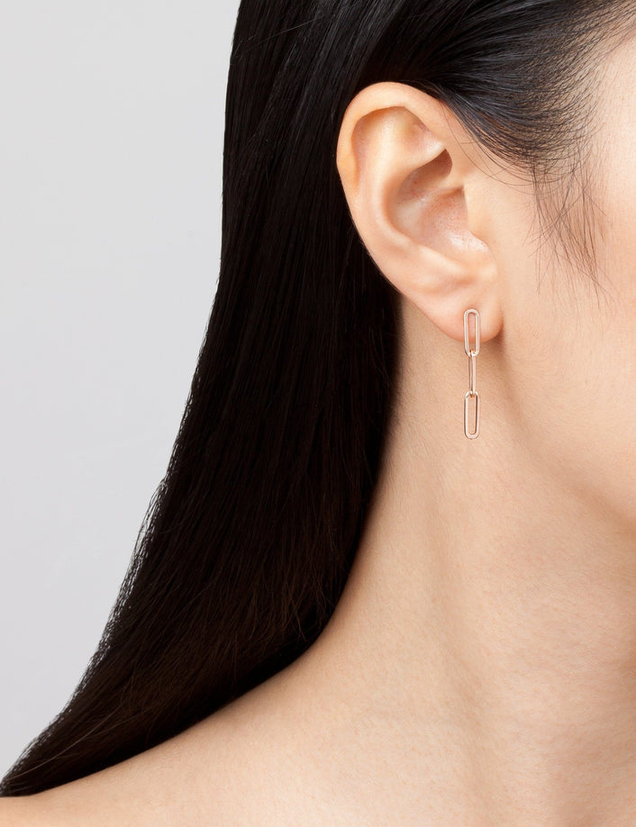 Sway Large Chain Earrings Short