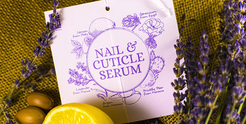 Essential Oils for Strengthening Damaged Nails by Al Asyl