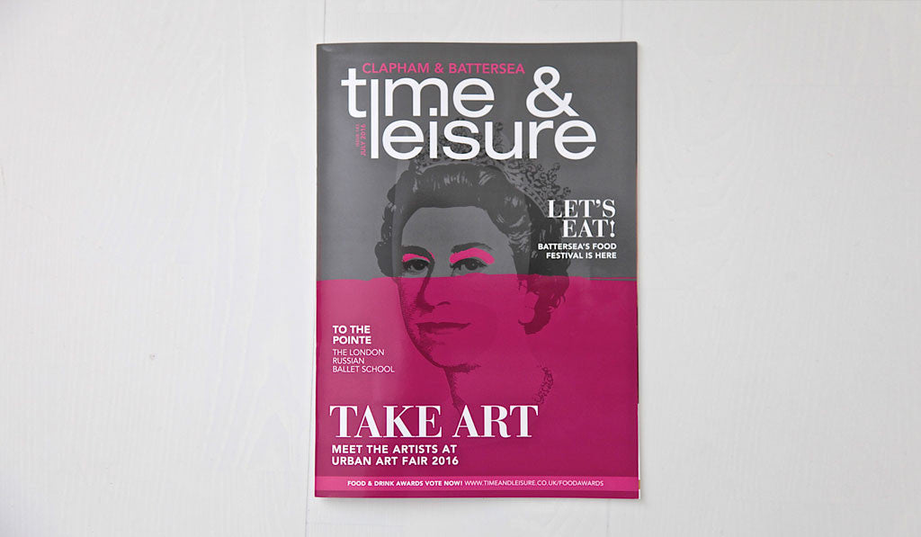 Time & Leisure magazine cover feature