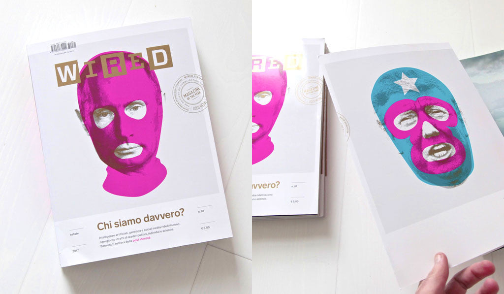 On The Cover of Wired Magazine (Italy) | Heath Kane