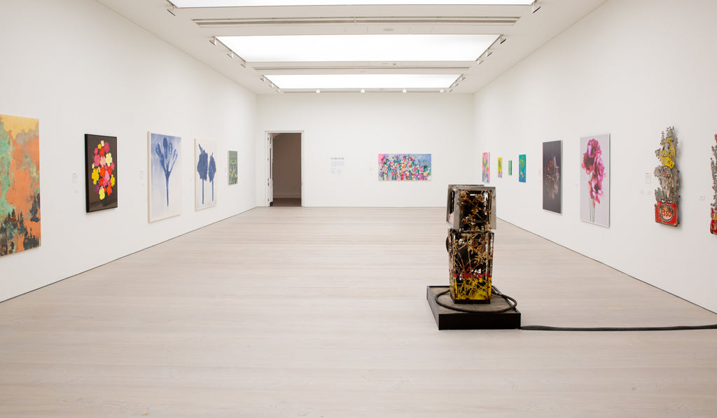 Saatchi Gallery, In Bloom exhibition featuring original painting by Heath Kane