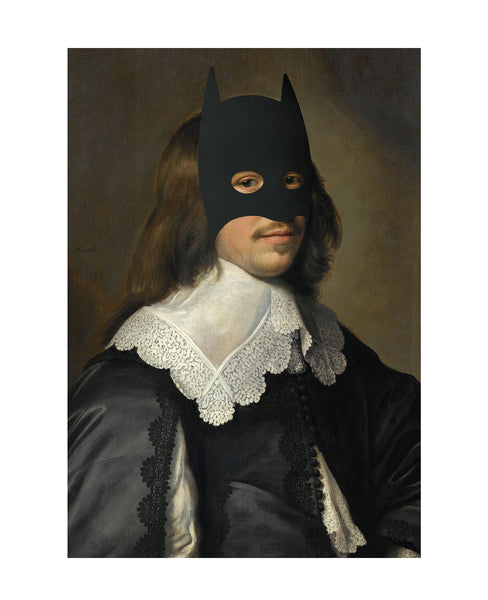 Rich Enough to be Batman - Renaissance Edition (Long Hair)