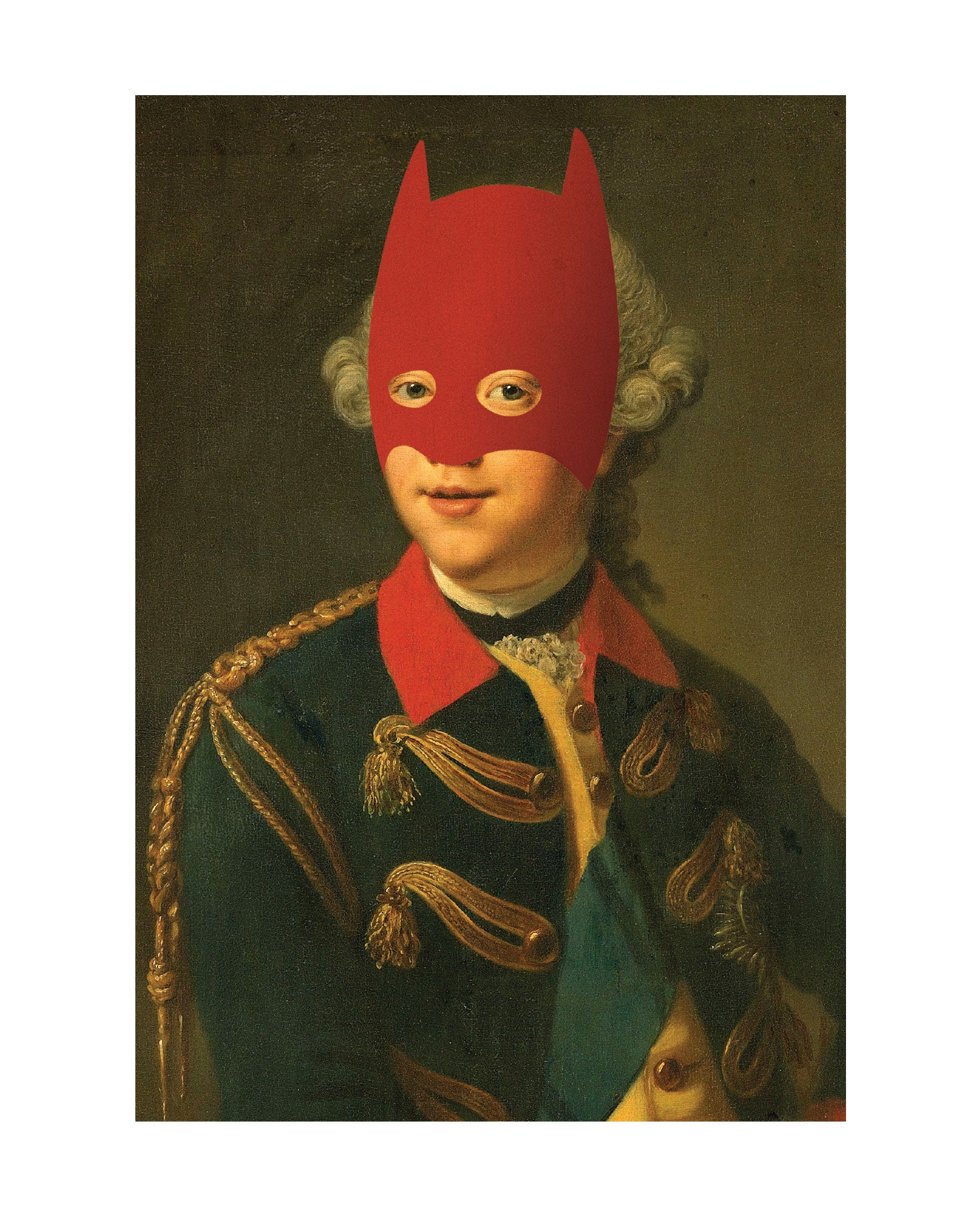 Copy of Rich Enough to be Batman - Renaissance Edition (Red Mask)