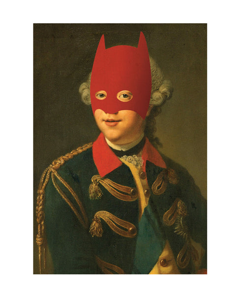 Rich Enough to be Batman - Renaissance Edition (Red Mask)