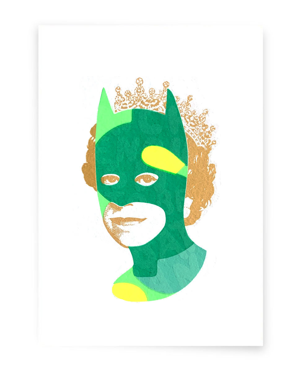 Rich Enough to be Batman - Green Dollar A5