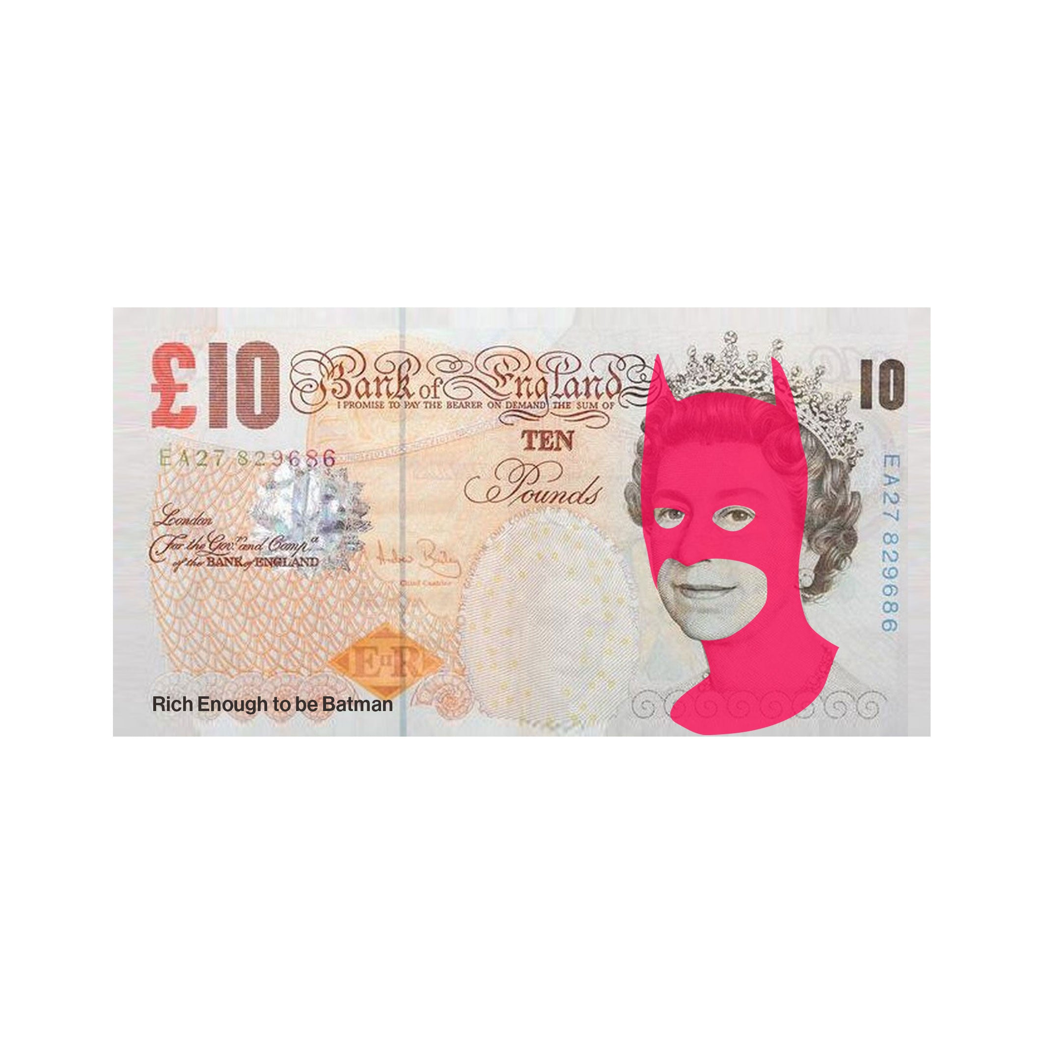 Rich Enough to be Batman - Tenner