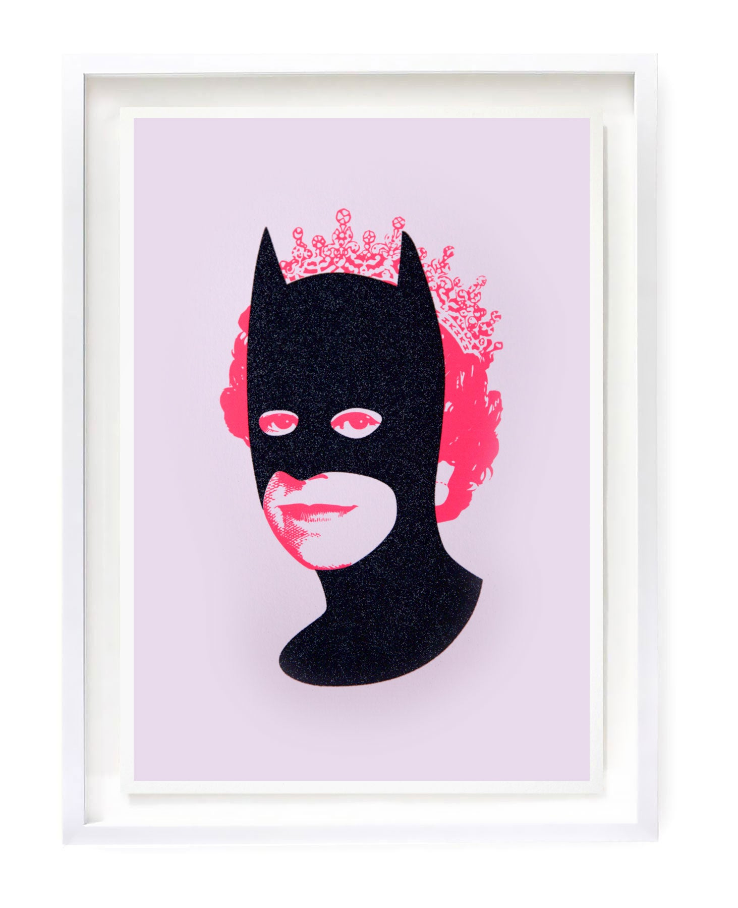 Rich Enough to be Batman - Black Diamond Dust and Pink by Heath Kane