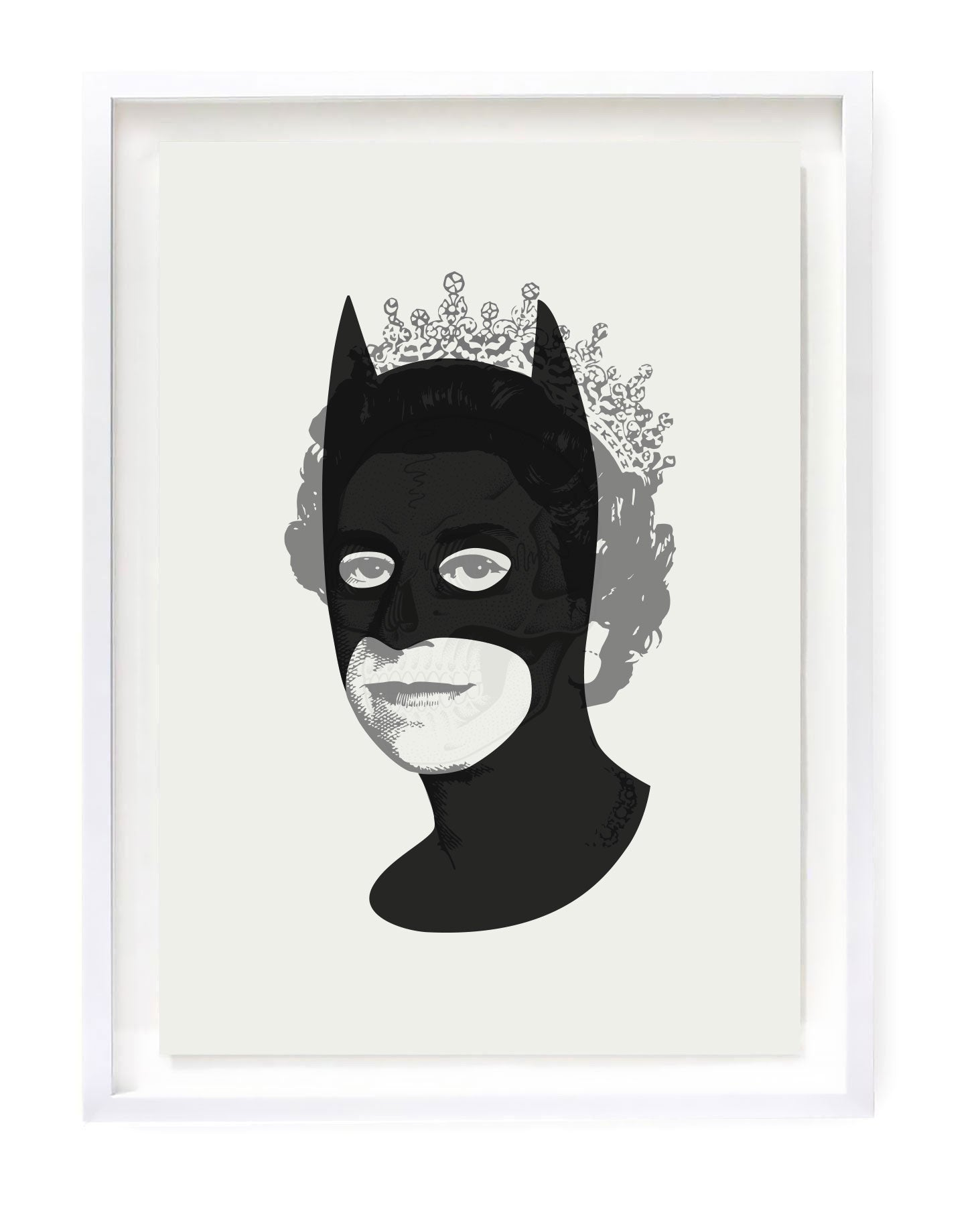 Rich Enough to be Batman - Black Skull A3 edition