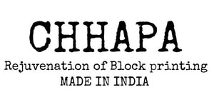 CHHAPA - Rejuvention Of Hand Block Printing