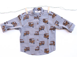 GRAY AUTORICKSHAW SHIRT