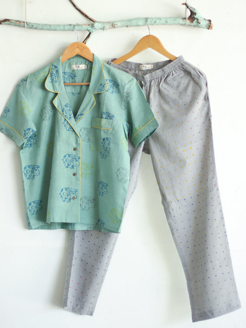 Nightwear with Pants