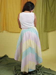Lining Skirt with Flamingo Pant