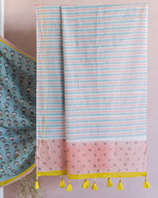 SAREE - Moods in Pastel Blue