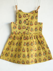 Khakhi Penguin Dress - CHHAPA