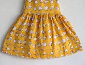 Birdies Mustard Dress
