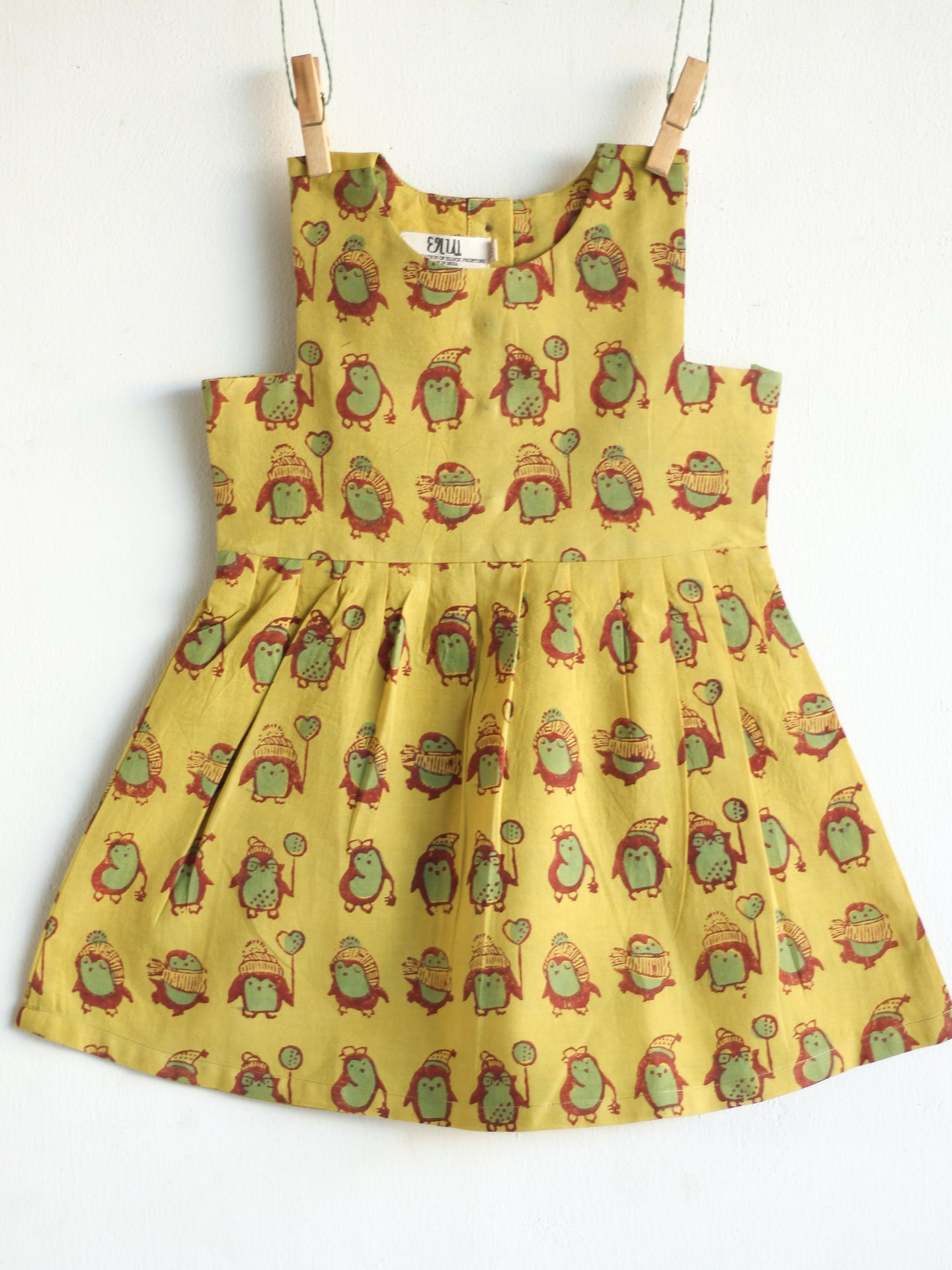Khakhi Penguin Dress