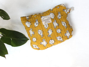 YELLOW BIRDS POUCH