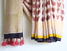 SAREE - Cactus in Candy Peach