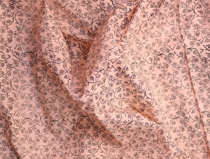 Fabric - Jaal in Peach