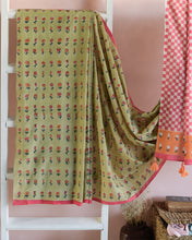 SAREE - Kusum in Pistachio Green