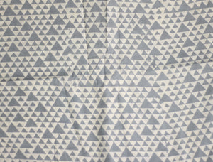 Fabric - Triangles in Gray