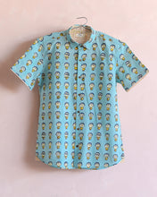 Shirt- Moods in Mint