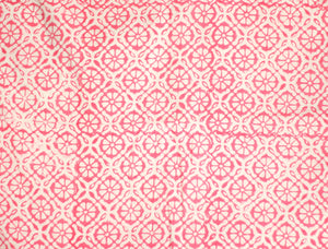 Fabric - Pink Floral Jaal