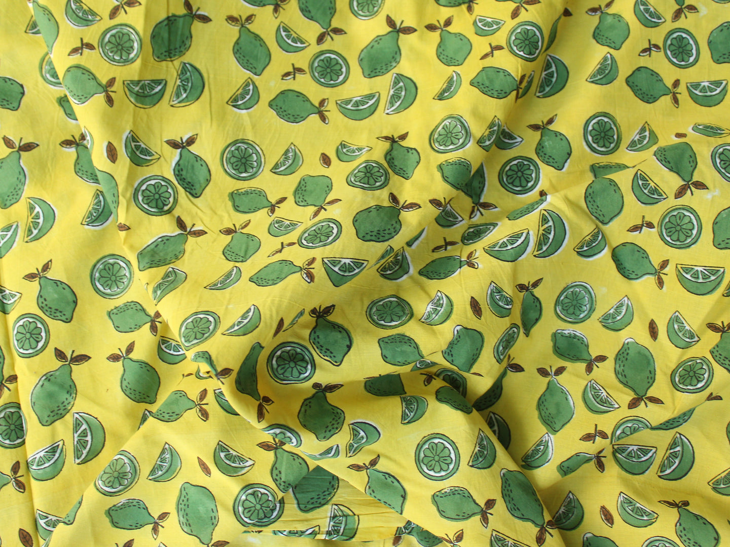 Fabric - Lemons in Yellow - CHHAPA
