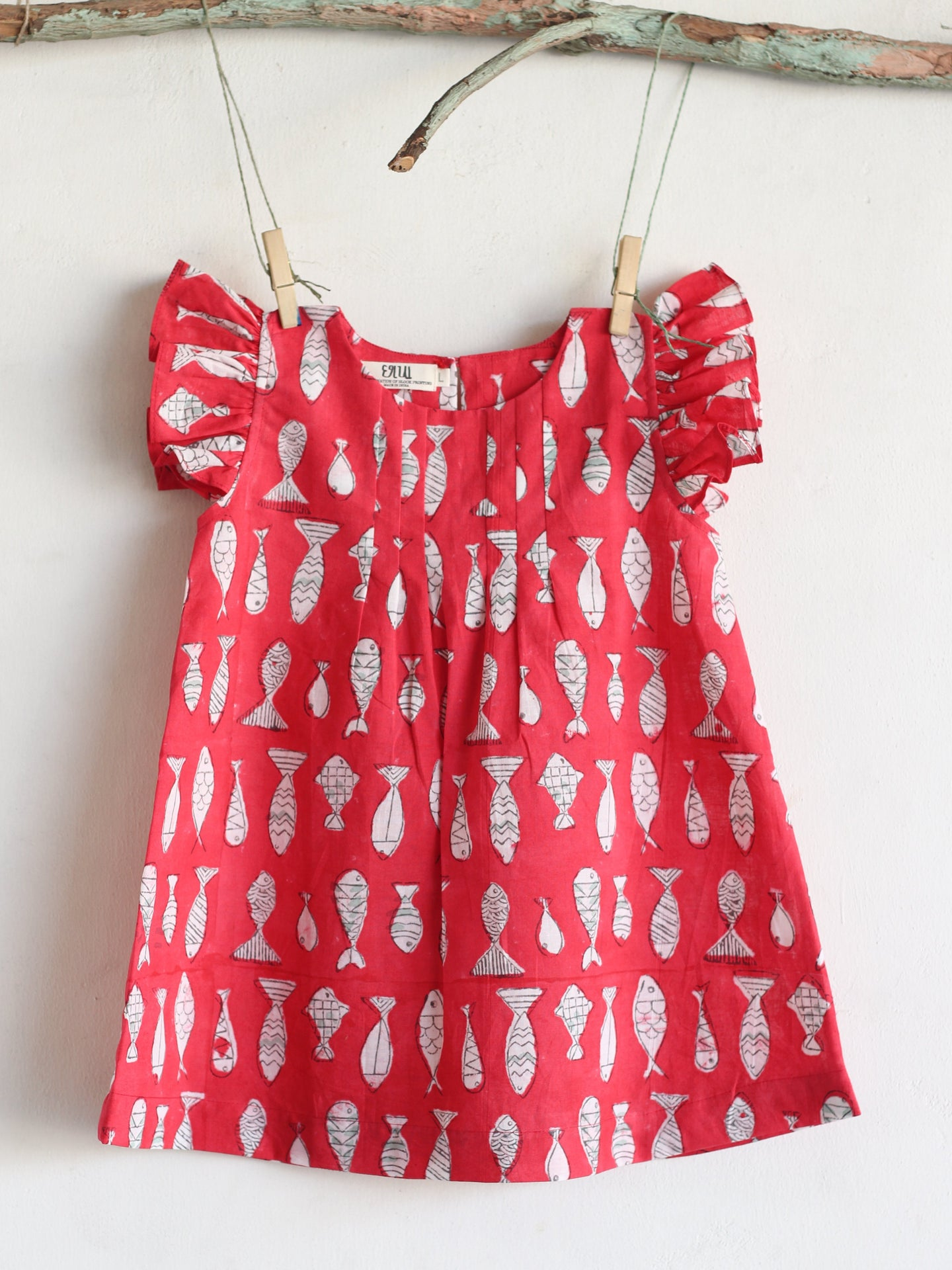 Fish Red Dress
