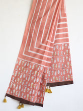 COTTON PEACH DUPATTA