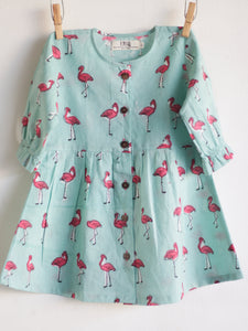 Flamingo Mint Dress