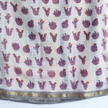 SAREE -Chanderi Silk Rainbow Cactus Saree