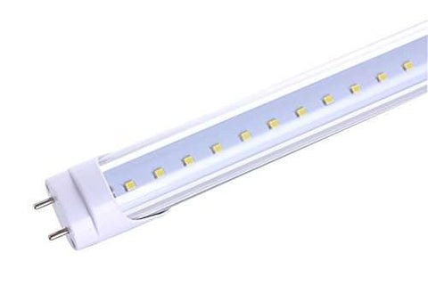 24W T8 1.5M 5Foot 220V LED Tube Replace Fluorescent Tubes Clear White 4 Pack