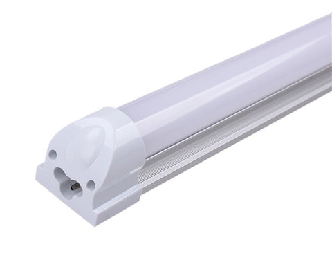 10W 60CM T8 2Foot 220V LED Tube with Fitting Frosted White 2 Pack