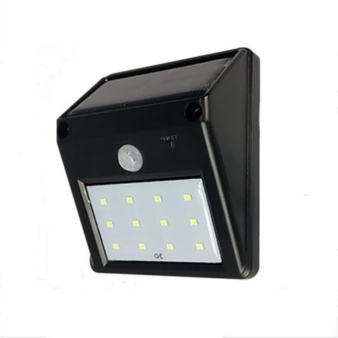 Solar Powered 20 Led Motion Sensor Light Wireless Exterior Security