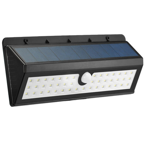 Solar Powered Led Motion Sensor Light Wireless Exterior Security