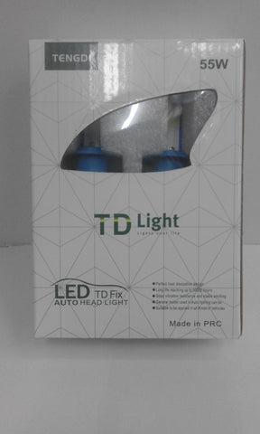 TD LIGHT   LED Headlight Kit - LED Head Light Kit - H4, H7 and H8/H9/H11 LED Headlights