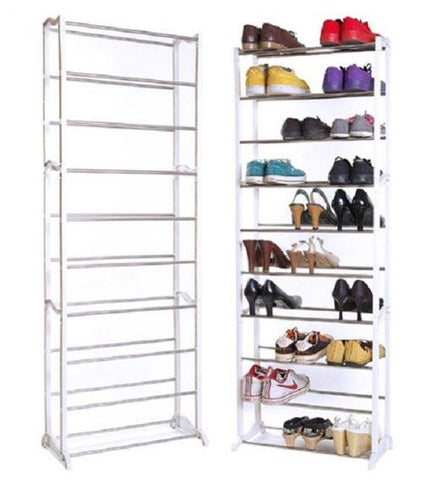 10 Shelf Shoe Rack - Multi-Shoe Rack DIY