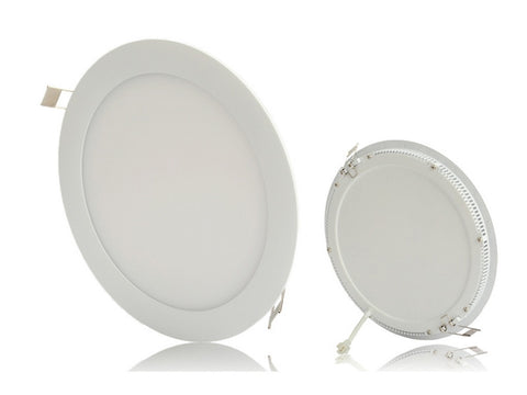18W LED Panel Light - Round&Square White