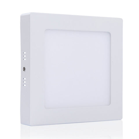 18W LED Surface Mount Panel Light - Round&Square White