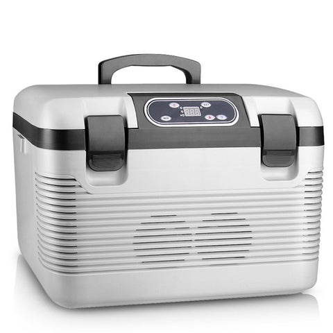 Portable 19L 2-in-1 AC/DC Cooling & Warming Refrigerator
