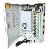 18 Channel CCTV Power Supply Distribution Box