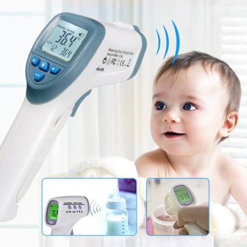 Infrared Baby Kid Digital LCD Thermometer Non contact Handheld Body Surface Tem