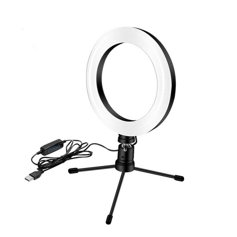 10inch 26cm Dimmable LED Ring Light Lamp With Foldable Tripod