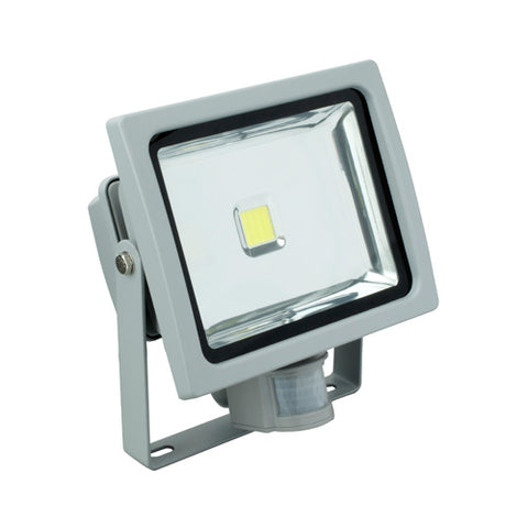 LED Flood Light with Motion Sensor - 30W