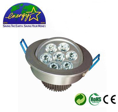 7W LED Recessed Ceiling/Down Light With Driver