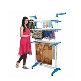 3 Layer Clothes Hanger - Blue
