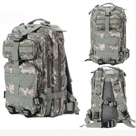 Outdoor Sport Military Tactical Backpack for Camping, Hiking & Trekking - Camo