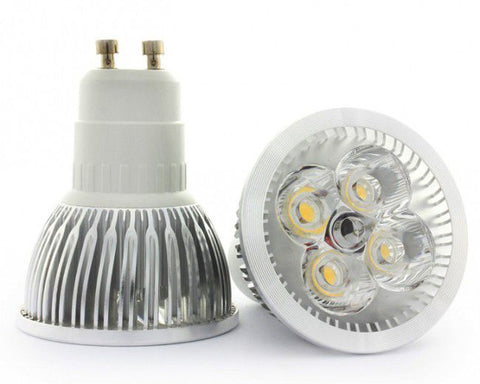 5W 220V GU10 Warm White LED Downlight Spotlight 85% Energy  Saving- Pack of 5