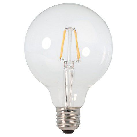 4W Led Filament Bulb- Warm White- Pack of 5